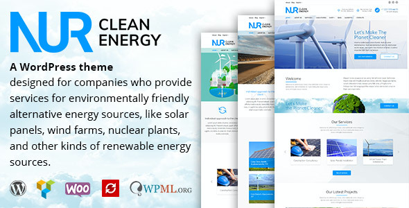 test Nur - Alternative & Renewable Energy WordPress Theme