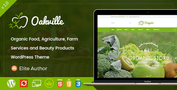 test Oakville - Organic Food, Agriculture, Farm Services and Beauty Products WP Theme