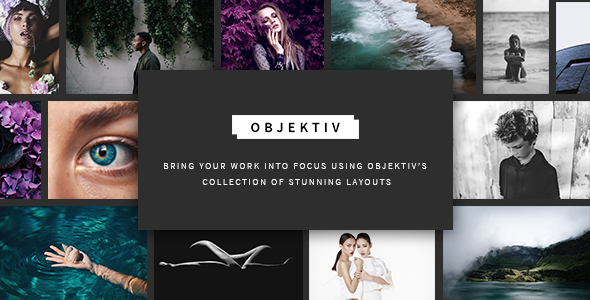 test Objektiv - A Contemporary and Clean Photography Theme