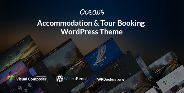 test Oceaus - Accommodation and Tour booking WordPress Theme