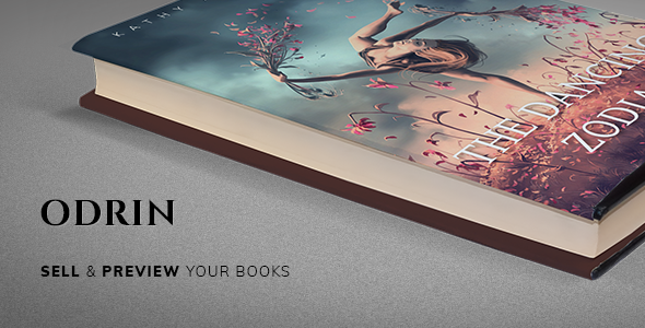 test Odrin - Book Selling WordPress Theme for Writers and Authors