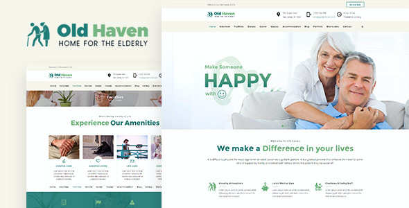 test Old Haven | Theme for Old Age Home