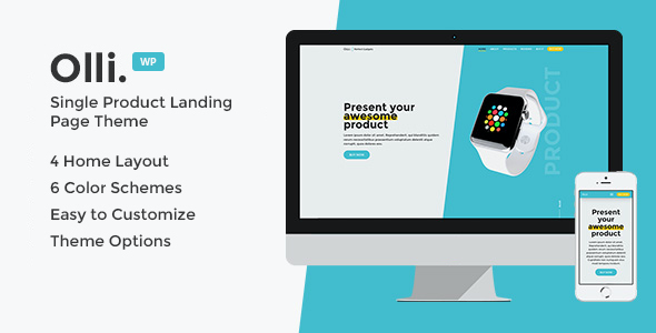 test Olli - Single Product Landing Page Theme