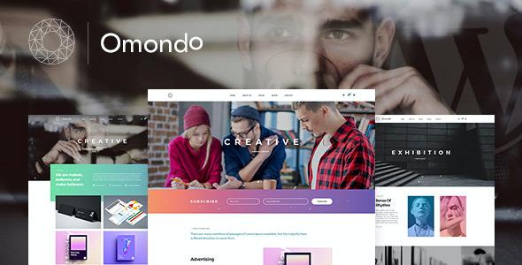 Test du thème WordPress Omondo , voici notre avis