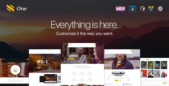test One - Business Agency Events WooCommerce Theme