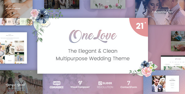 test OneLove - The Elegant & Clean Multipurpose Wedding WordPress Theme