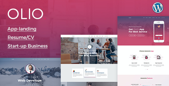 test One Page Olio - One Page Multipurpose Theme