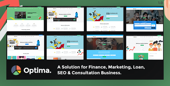 test Optima - Multiple Solutions For Business WordPress Theme