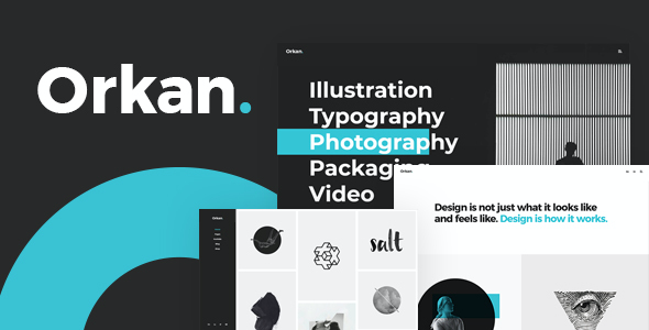 test Orkan - A Portfolio Theme Made for Designers, Artists and Agencies