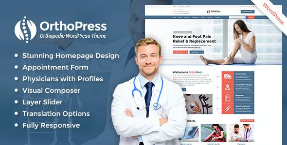 Test du thème WordPress OrthoPress , découvrez notre avis