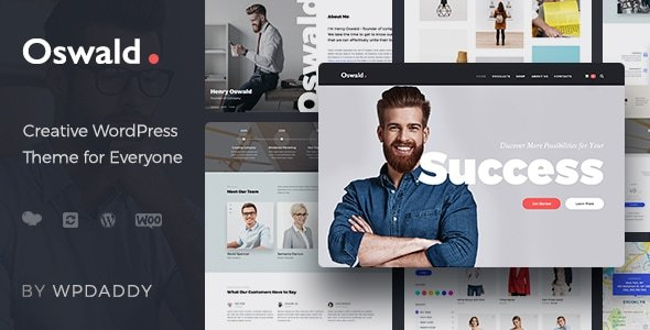 test Oswald - Creative Multi-Purpose Responsive WordPress Theme