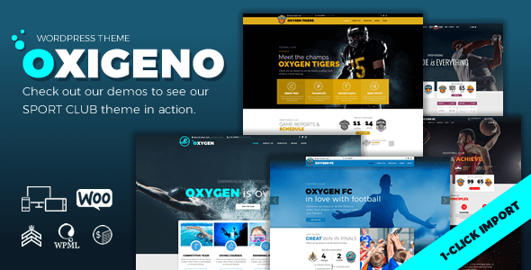 test Oxigeno Sport – Sports Club and Team