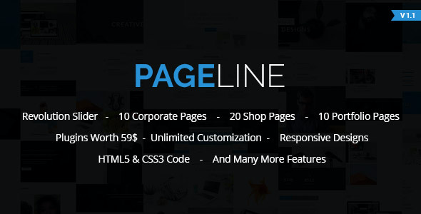 test PageLine - Bootstrap Based Multi-Purpose WordPress Theme
