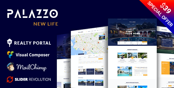 test Palazzo - Real Estate WordPress Theme