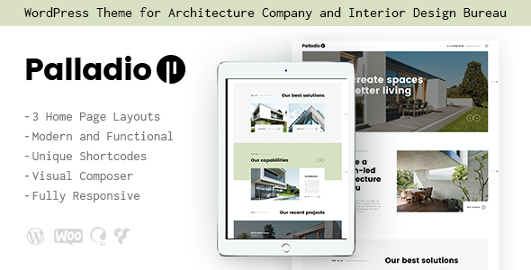 test Palladio | Interior Design & Architecture Theme