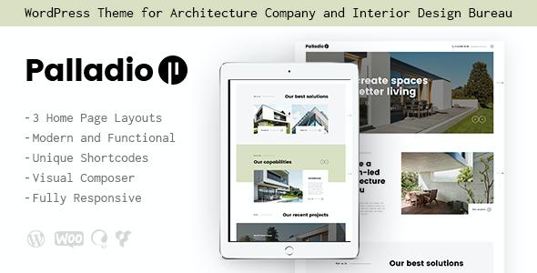 Test du thème WordPress Palladio , voici notre avis