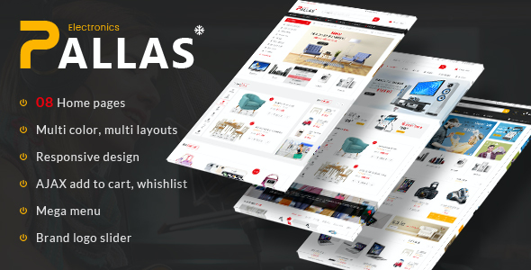 test Pallas - Electronics Theme for WooCommerce WordPress