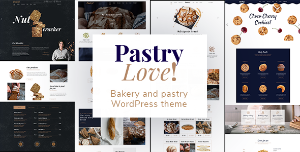 test Pastry Love - Bakery and Patisserie WordPress Theme