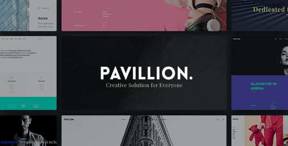 Test du thème WordPress Pavillion , voici notre avis