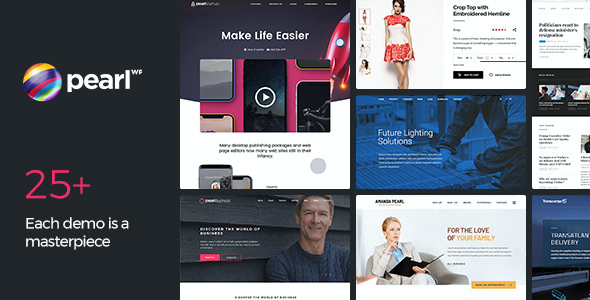 test Pearl - Multipurpose & Corporate Business WordPress Theme