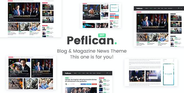 Test du thème WordPress Peflican , découvrez notre avis