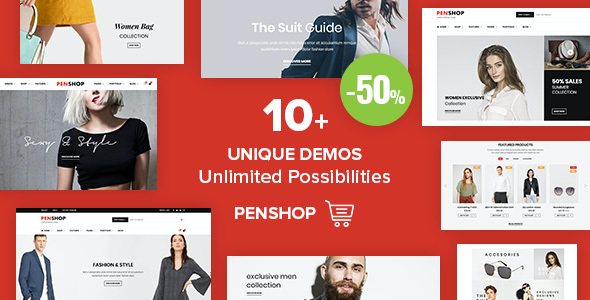 test PenShop - Multi-Purpose eCommerce WordPress Theme