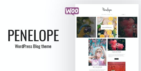 Test du thème WordPress Penelope , voici notre avis