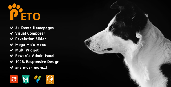 test Peto - Responsive WooCommerce WordPress Theme for Pets and Vets