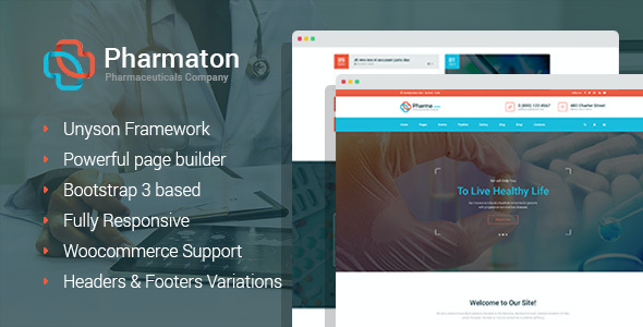 test Pharmaton - Medical and Pharmacy WordPress Theme