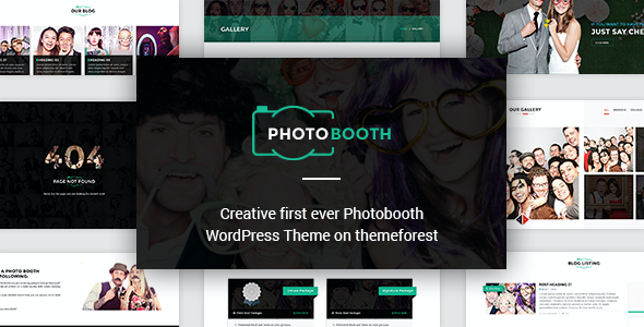 Test du thème WordPress PhotoBooth , découvrez notre avis