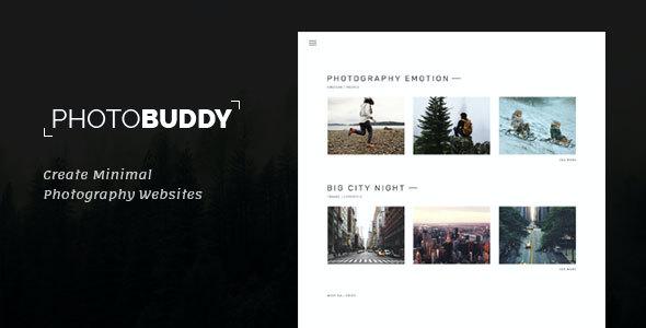 Test du thème WordPress PhotoBuddy , voici notre avis