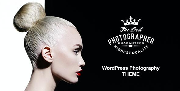 Test du thème WordPress Photography WordPress Theme , découvrez notre avis