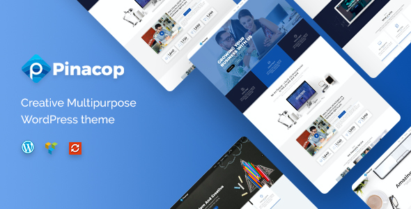 test Pinacop - Creative Multipurpose WordPress Theme