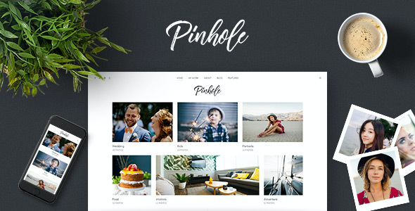 test Pinhole - WordPress Gallery Theme for Photographers