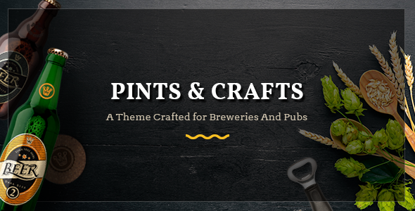 test Pints&Crafts - A Theme Crafted for Breweries and Pubs