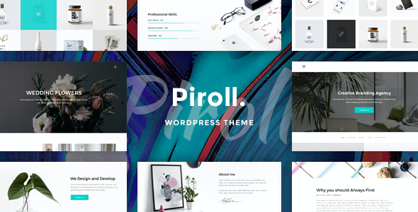 Test du thème WordPress Piroll , découvrez notre avis