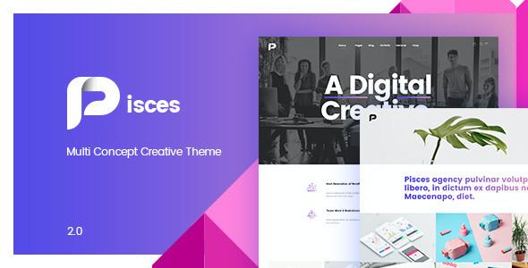 Test du thème WordPress Pisces , découvrez notre avis