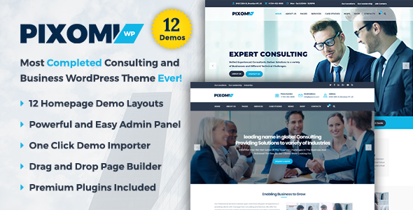 test Pixomi - A Modern Consulting and Business WordPress Theme