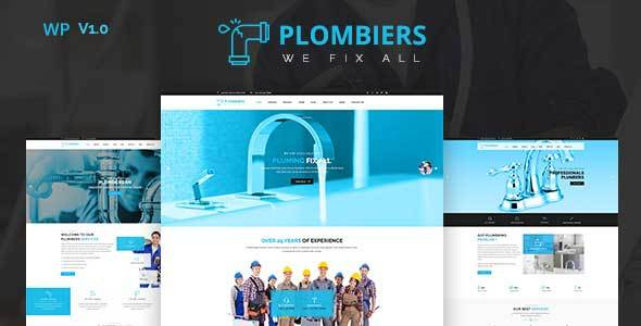 test Plombiers – plumber, repair services WordPress Theme