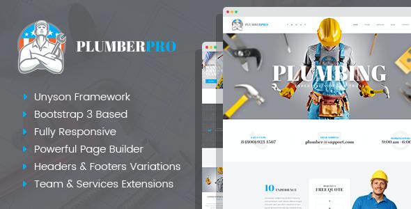 Test du thème WordPress PlumberPlus , voici notre avis