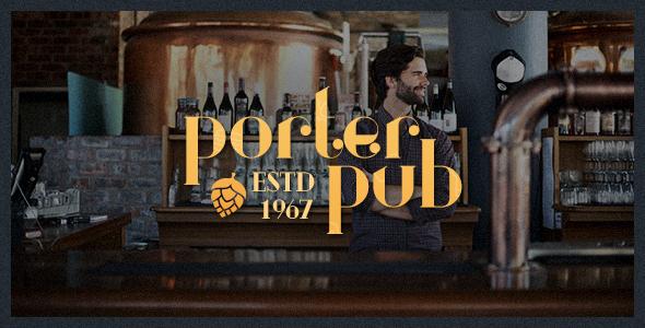 Test du thème WordPress Porter Pub , découvrez notre avis