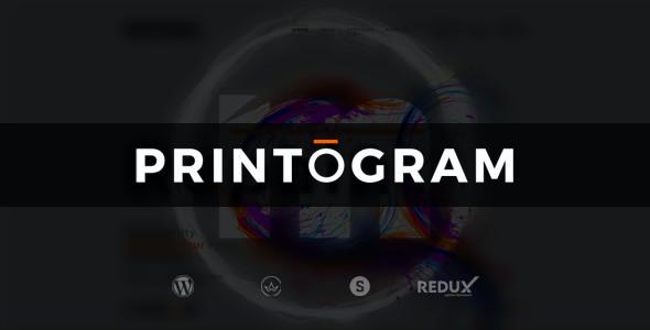 Test du thème WordPress Printogram , voici notre avis