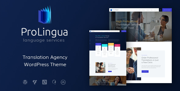 test ProLingua | Translation Services WordPress Theme