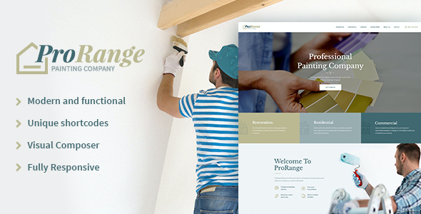 test ProRange | Painting Company WP Theme