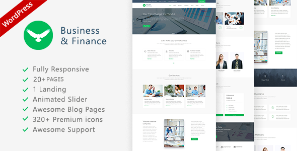 test Proffs - Business and Finance WordPress Theme