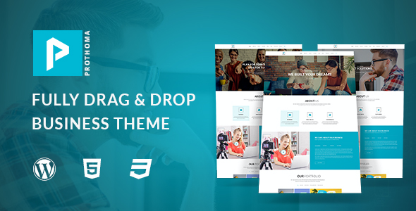 test Prothoma- Corporate, Business WordPress Theme