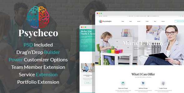 test PsycheCo – Therapy & Counseling WordPress Theme