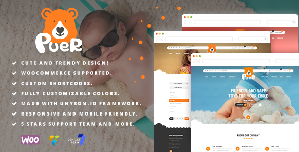 test Puer - Kids Products and Parties WooCommerce Theme
