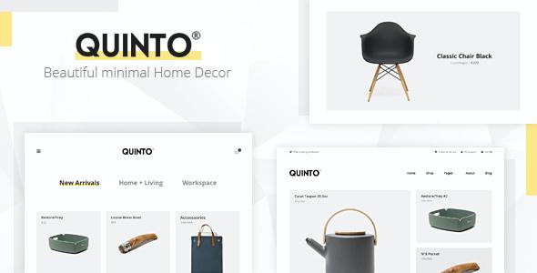 Test du thème WordPress Quinto , voici notre avis