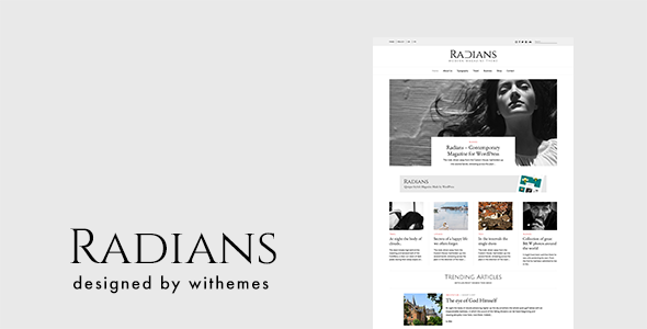test Radians | Modern Magazine Theme